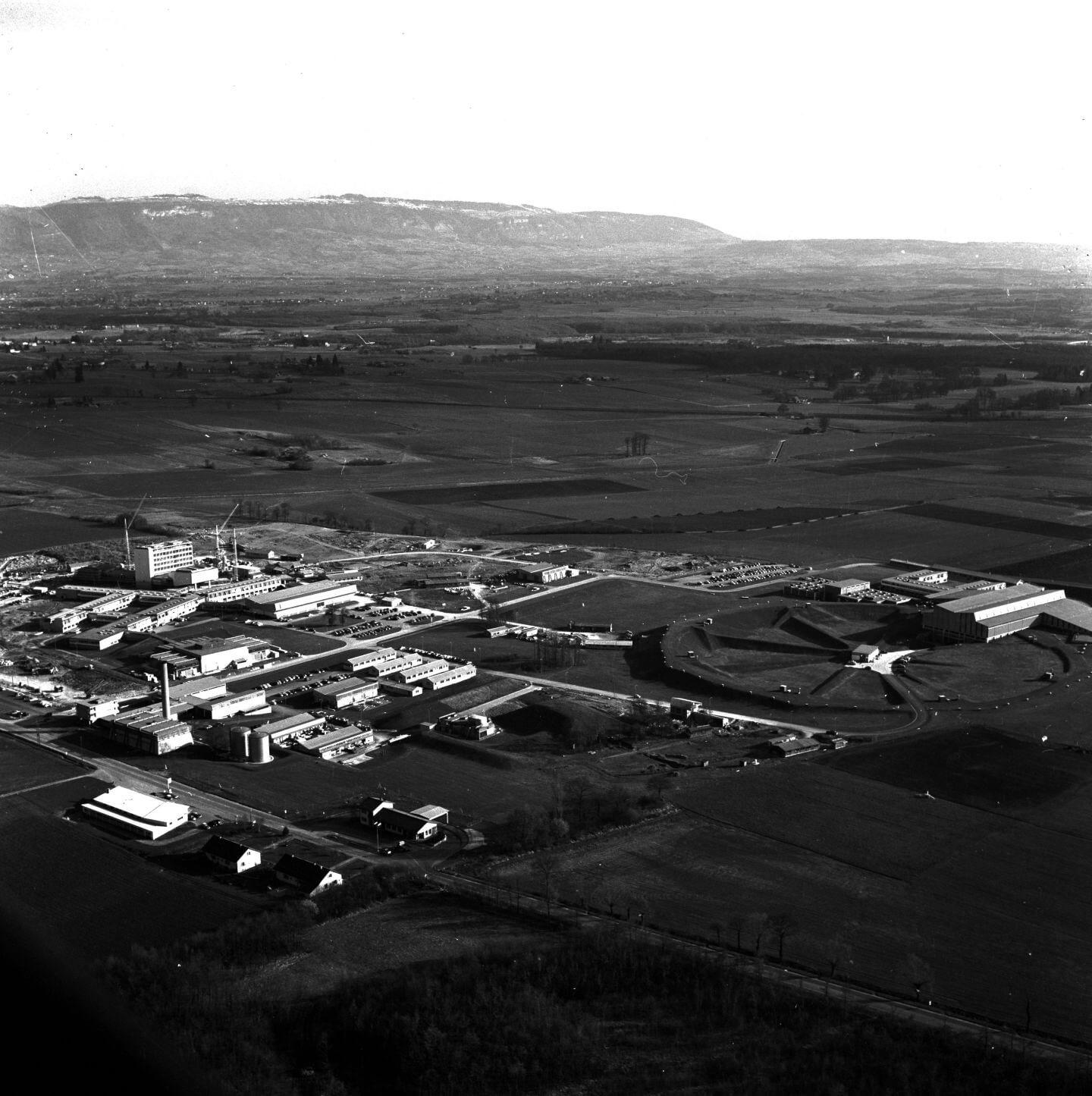 Accélérateur Proton Synchrotron au CERN en 1959